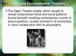 poor and environmental theatres6