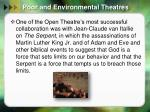 poor and environmental theatres7