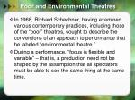 poor and environmental theatres8