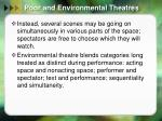 poor and environmental theatres9