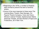 theatre by and for women2
