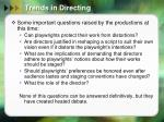 trends in directing1