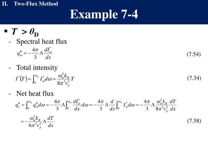 Two-Flux Method