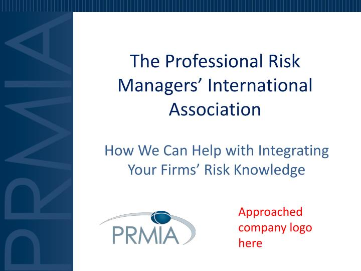 the professional risk managers international association n.