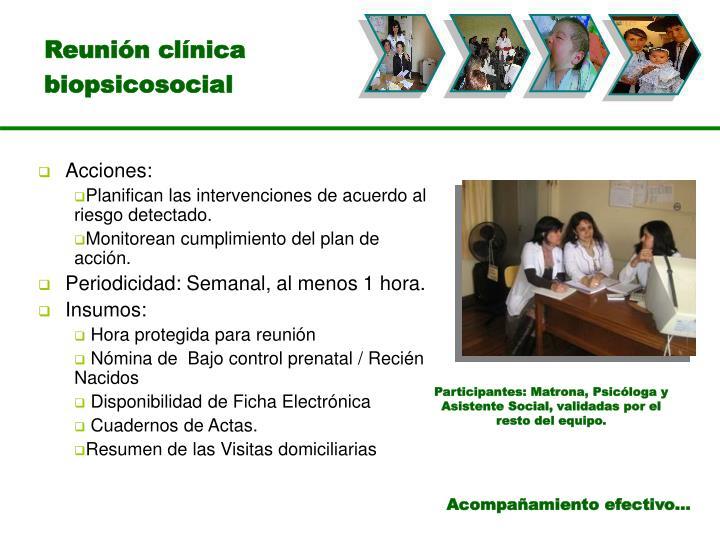 Reunión clínica