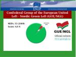 confederal group of the european united left nordic green left gue ngl