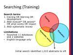 searching training