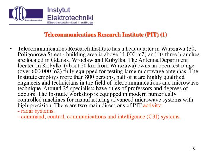 Telecommunications Research Institute