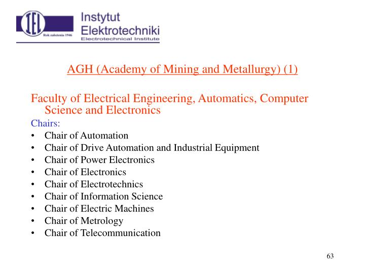 AGH (Academy of Mining and Metallurgy)