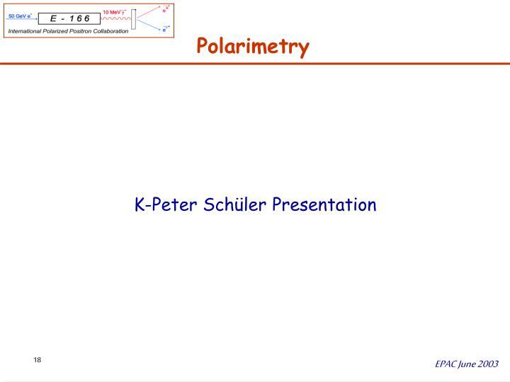 Polarimetry