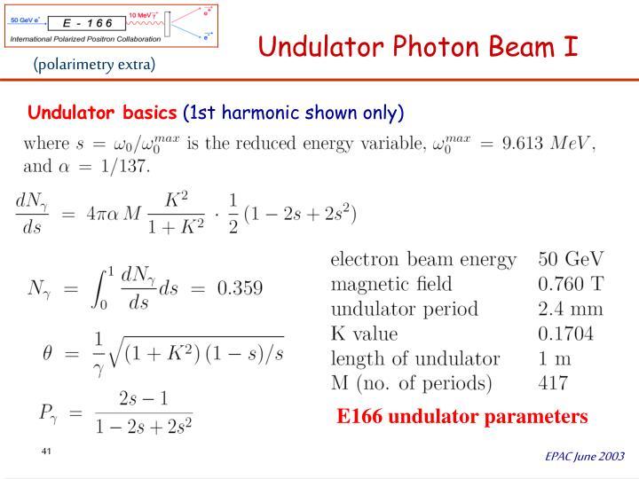 (polarimetry extra)