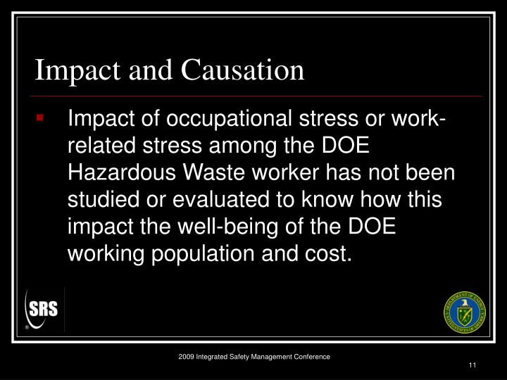 Impact and Causation