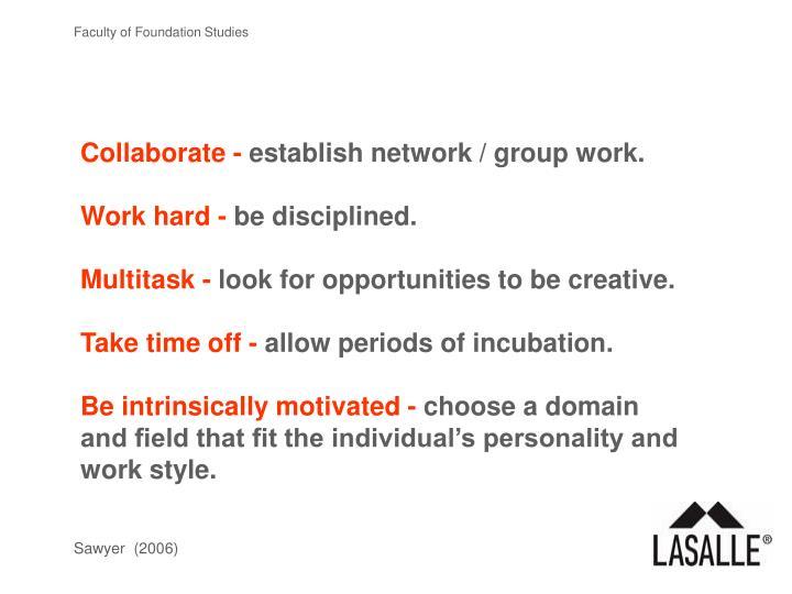 Collaborate -