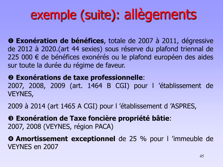 exemple (suite):