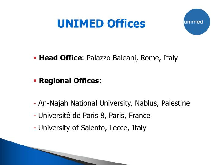 UNIMED Offices