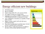 energy efficient new buildings