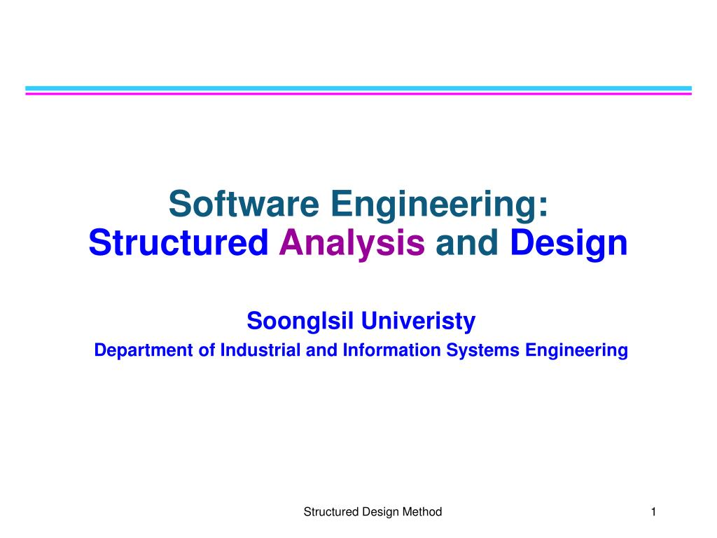 Ppt Software Engineering Structured Analysis And Design Powerpoint Presentation Id 3661704
