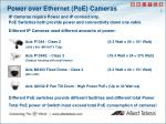 power over ethernet poe cameras