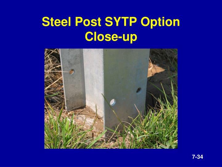 Steel Post SYTP Option