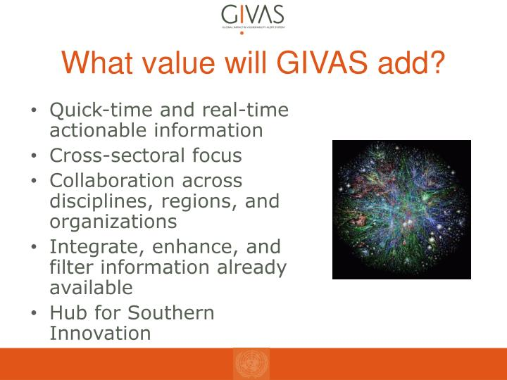 What value will GIVAS add?