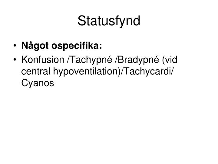 Statusfynd