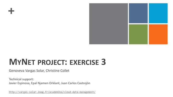 Mynet project exercise 3