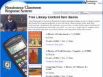 renaissance classroom response system