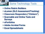 some technology tools