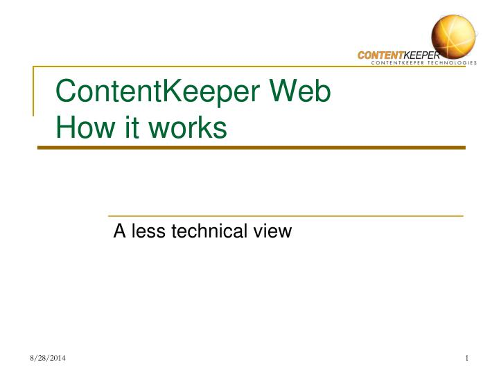 contentkeeper web how it works n.