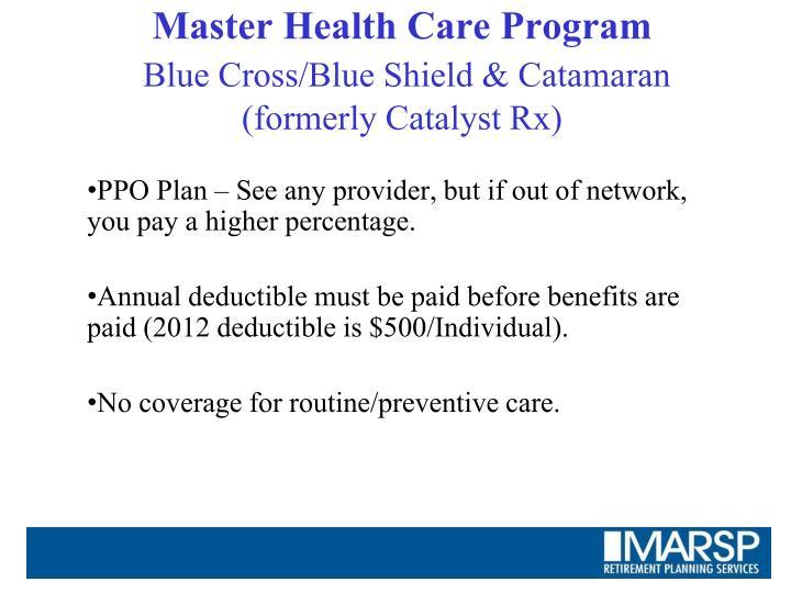 Master Health Care Program