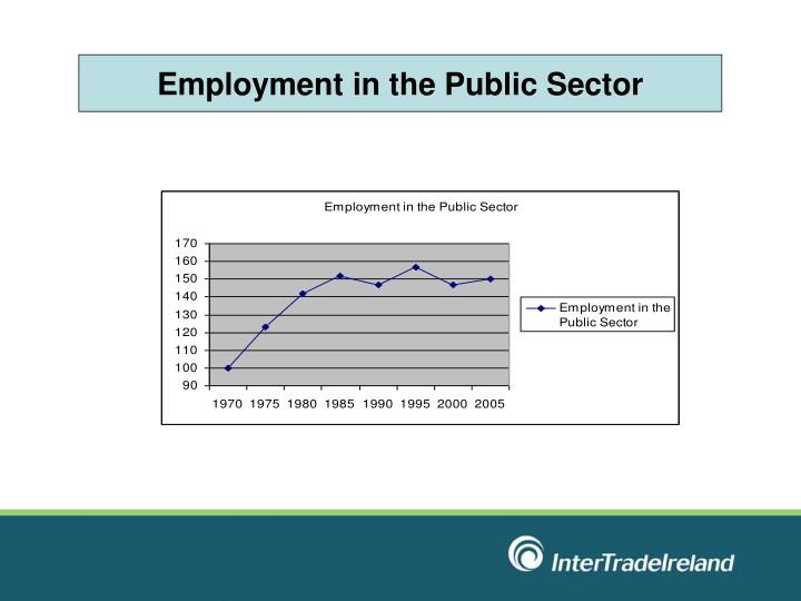 Employment in the Public Sector