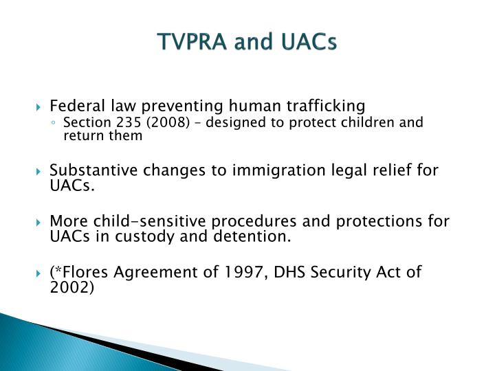 Tvpra and uacs