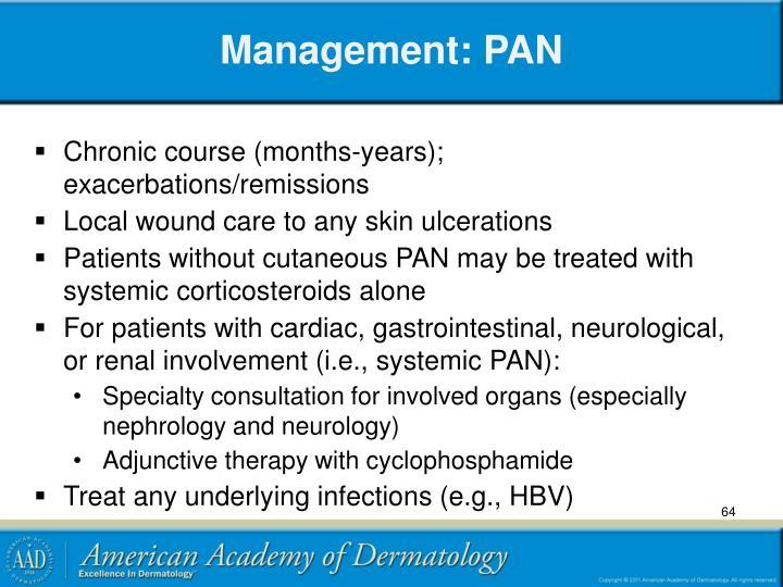 Management: PAN