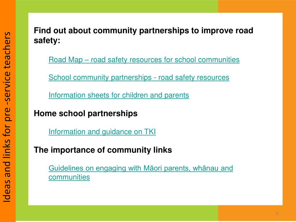 PPT - Road safety education for pre-service and new teachers