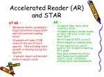 accelerated reader ar and star