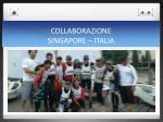collaborazione singapore italia