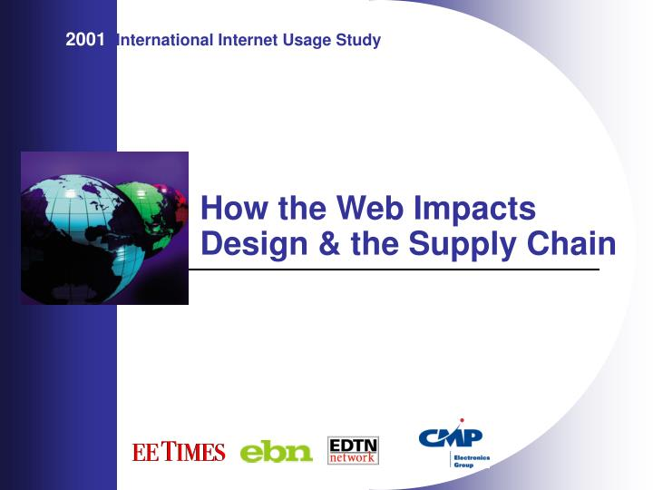 how the web impacts design the supply chain n.