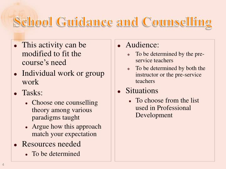 School Guidance and