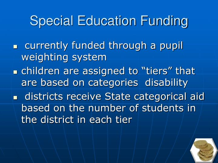 Special Education Funding