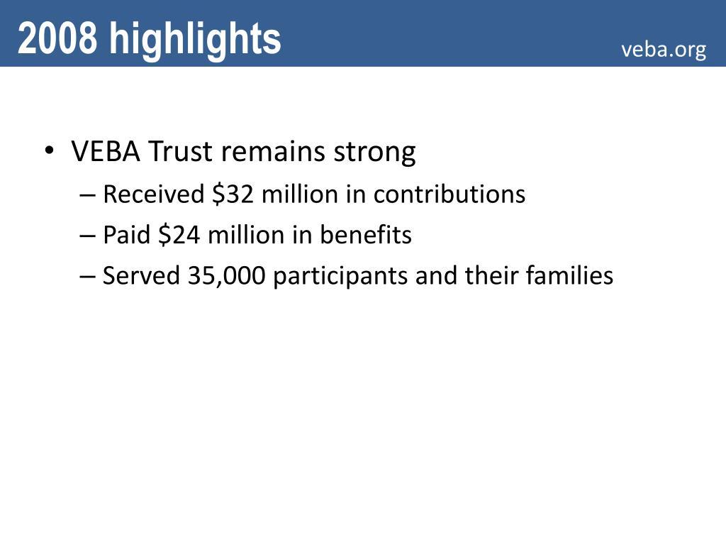 PPT - TPA Transition New VEBA Trust Third-party ...
