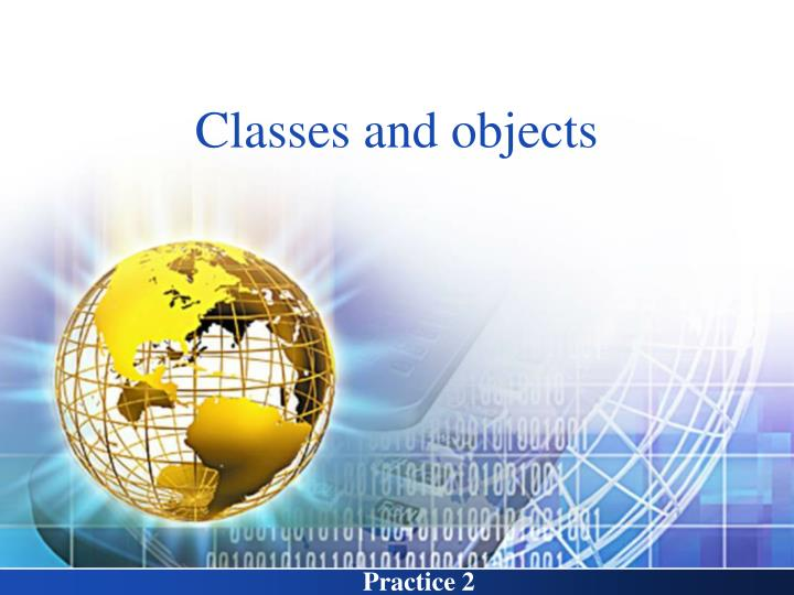 classes and objects n.