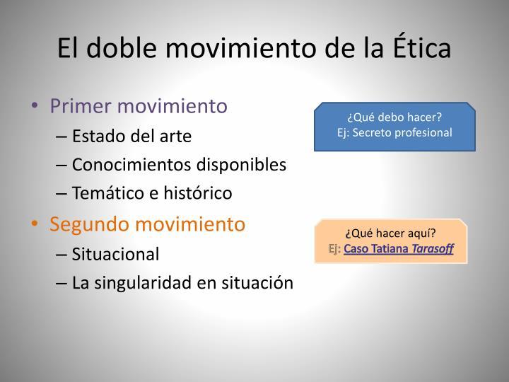 El doble movimiento de la tica1