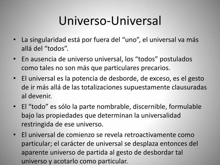 Universo-Universal