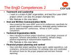 the engd competences 2