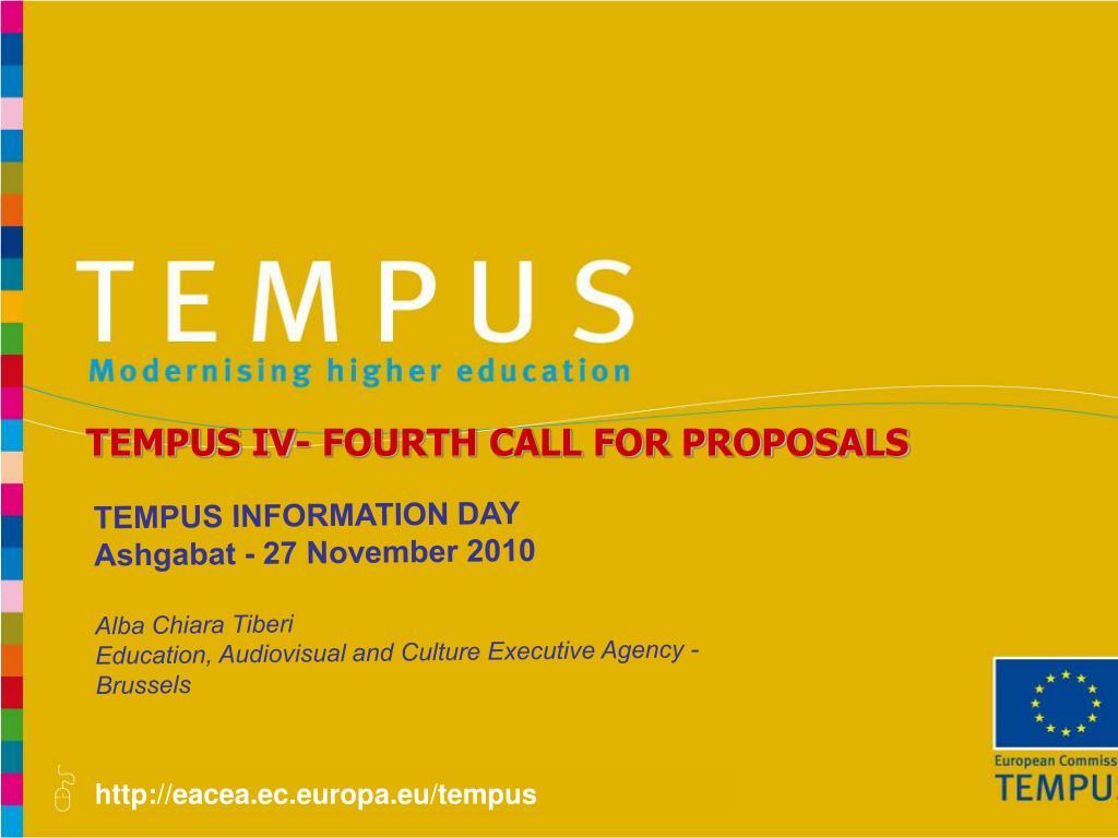 PPT - eacea ec europa eu/tempus PowerPoint Presentation - ID
