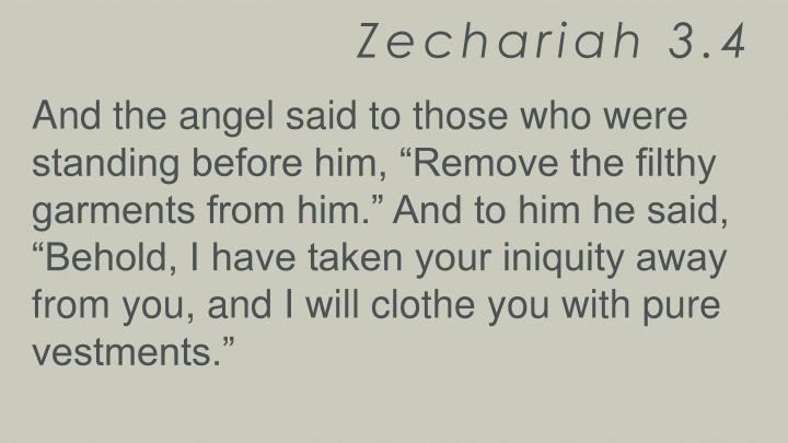 Zechariah 3.4
