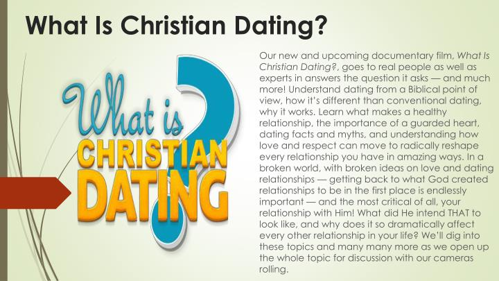 What is christian dating