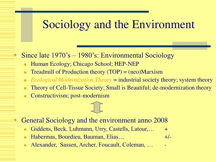 "environmentalism and the treadmill of production Environmental social scientists should analyze ideologies that  of the ""treadmill  of production"" or the expansionistic production cycle that."