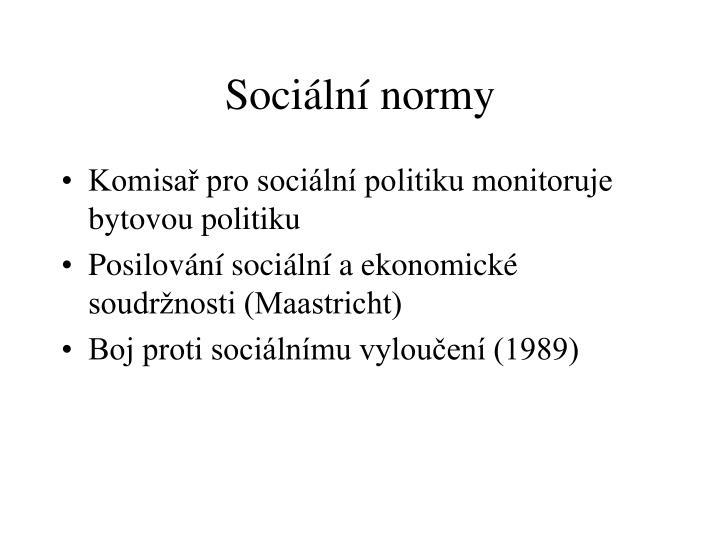 Sociální normy