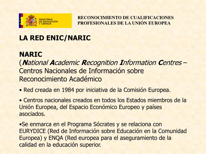 LA RED ENIC/NARIC